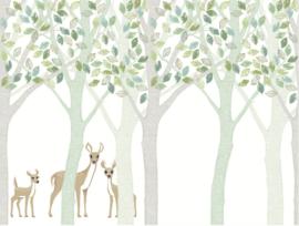 Eijffinger Wallpower Junior 364198 Deer, Leaf, Tree