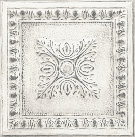 Dutch Restored Ornament Tile behang 24031