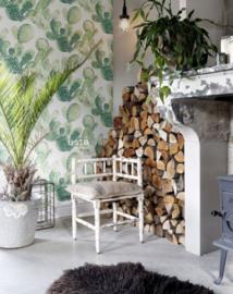 Esta Home Greenhouse Cactussen behang 138902
