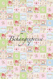 Behangexpresse COLORchoc Wallprint  Alice Patch INK 6092