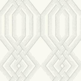 York Wallcoverings Handpainted Traditionals behang Etched Lattice TL1909
