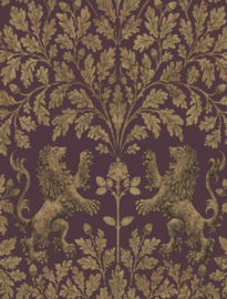Cole & Son The Pearwood Collection behang Boscobel Oak 116/10038
