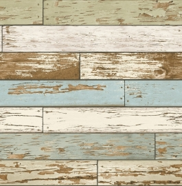 Dutch Reclaimed behang FD22302 Scrap Wood