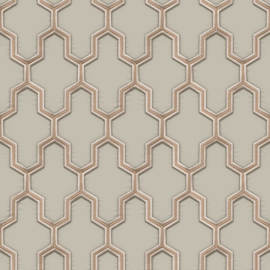 Dutch Wall Fabric behang Geometric WF121023