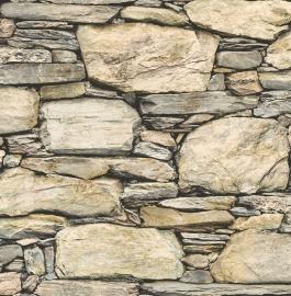 Dutch Reclaimed behang FD22317 Stacked Stones