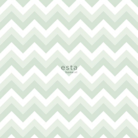 Esta Home Little Bandits Zigzag Chevrons behang 128858