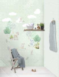 Behangexpresse Kay & Liv Wallprint Forest Friends INK 7010