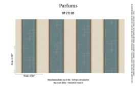 Élitis Parfums behang Musc VP 77101