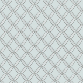 Dutch Fabric Touch behang Circle Geometric FT221223