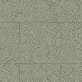 Origin Luxury Skins behang Tegels met Slangenprint 347786