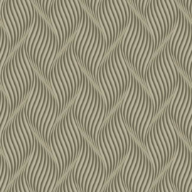 York Wallcoverings Ashford Whites behang SW7445 Groovy