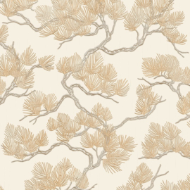 Dutch Wall Fabric behang Pine Tree WF121012