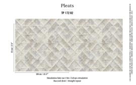 Élitis Pleats behang Majorelle PT 17202