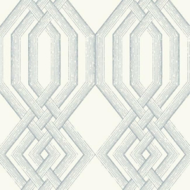 York Wallcoverings Handpainted Traditionals behang Etched Lattice TL1912