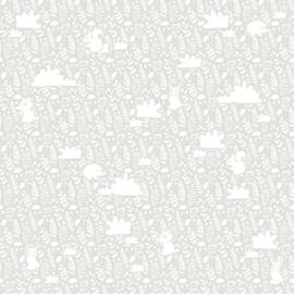 Noordwand Mondo Baby behang Diertjes 13013