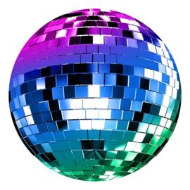 Noordwand Good Vibes behangcirkel Disco GVC24310