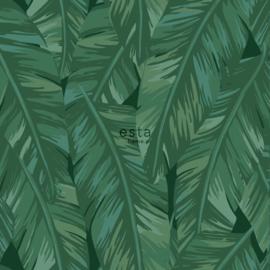 Esta Home Jungle Fever behang Bananenbladeren 139016