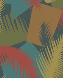 Cole & Son Geometric II behang Deco Palm 105/8039