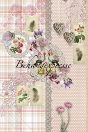 Behangexpresse COLORchoc Wallprint Brocante INK 6069