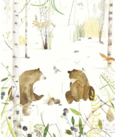 Eijffinger Wallpower Junior 364162 Chitchating Bears