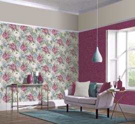 Arthouse Bloom behang Painted Dahlia 676107