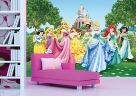 AG Design Fotobehang Disney Princesses FTD2207