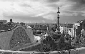 Dutch DigiWalls City Love Fotobehang Barcelona CL07B