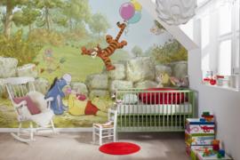 Disney Fotobehang Winnie Pooh Ballooning 8-460