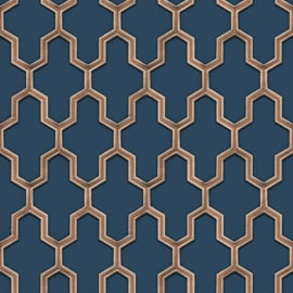 Dutch Wall Fabric behang Geometric WF121027