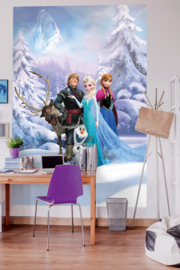 Disney Fotobehang Frozen Winter Land 4-498