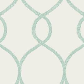 York Wallcoverings Ronald Redding 24 Karat behang Laurel Leaf Ogee KT2238