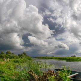 Noordwand Holland Fotobehang Lakeveld Polder 2871