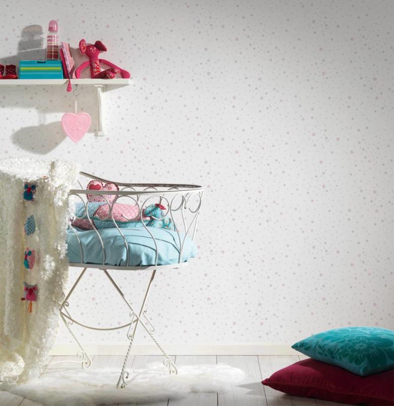 AS Creation Little Stars Stippen behang 35855-1