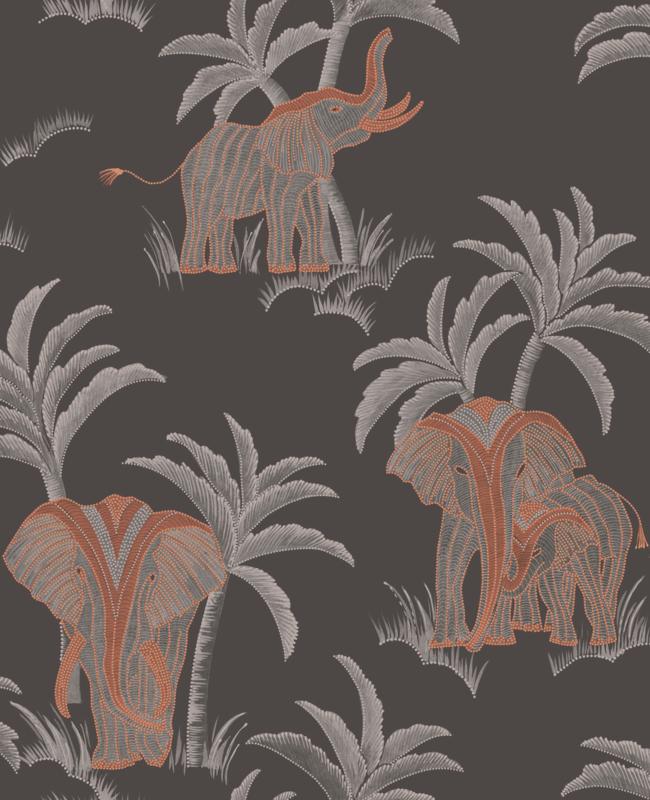 Hookedonwalls Exotique behang Tembo 17300
