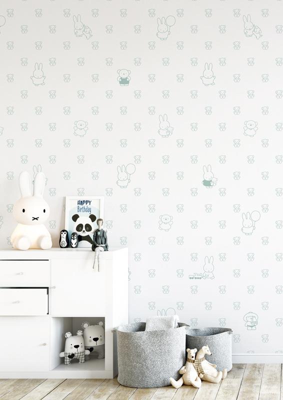 KEK Amsterdam Nijntje behang Bears WP-509