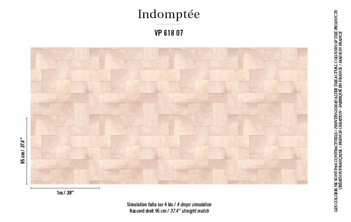 Élitis Indomptée Appaloosa behang VP 61807