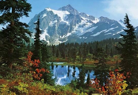 Idealdecor Mountain Morning 211
