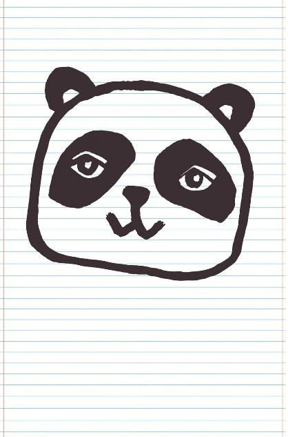 Eijffinger Wallpower Junior 364104 Panda Notebook