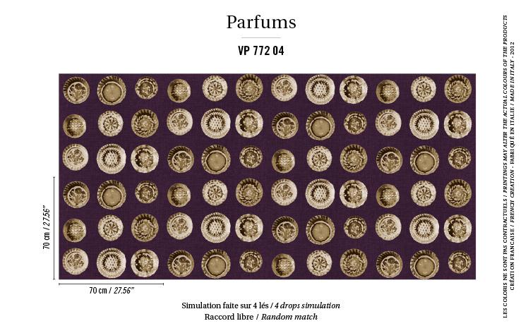 Élitis Parfums behang Narcisse VP 77204