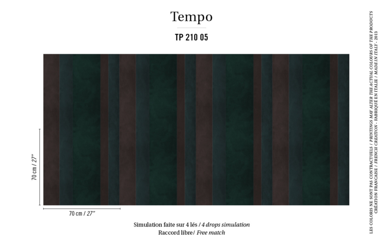 Élitis Tempo behang Calypso TP 21005