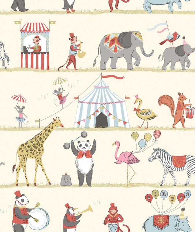 Noordwand Just 4 Kids 2 behang Circus G56545