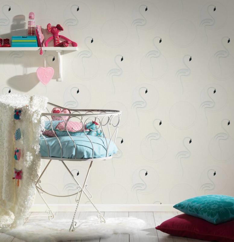 AS Creation Boys and Girls 6 behang  Flamingo 36998-1