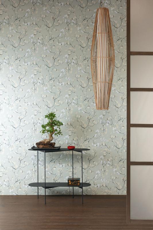 Khrôma Kimono behang Haru Meadow KIM108