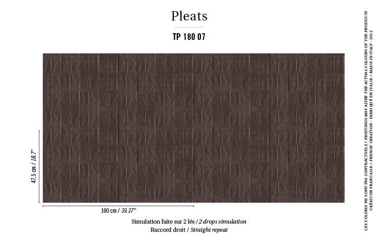 Élitis Pleats behang Arts & Craft TP 18007