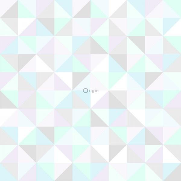 Origin Hide & Seek driehoekjes behang 337205