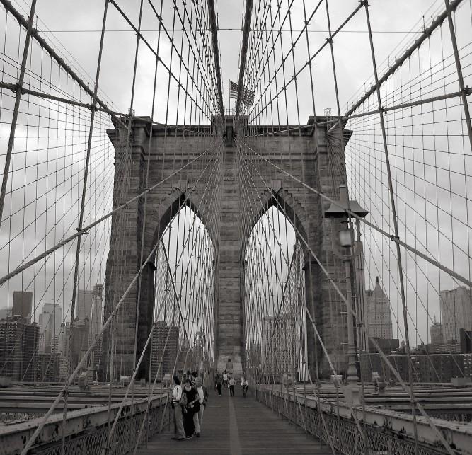 No Limits Fotobehang Brooklyn bridge 30318