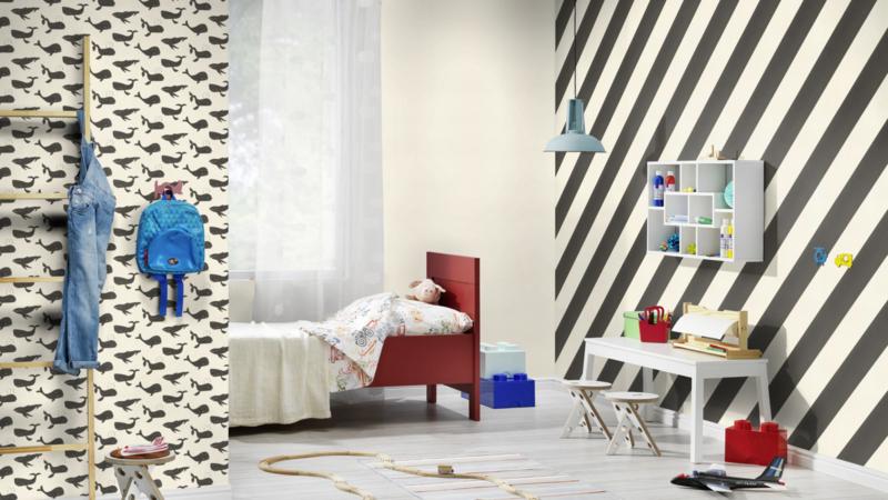 Rasch Bambino XVIII by studio Claas behang Streep 531626