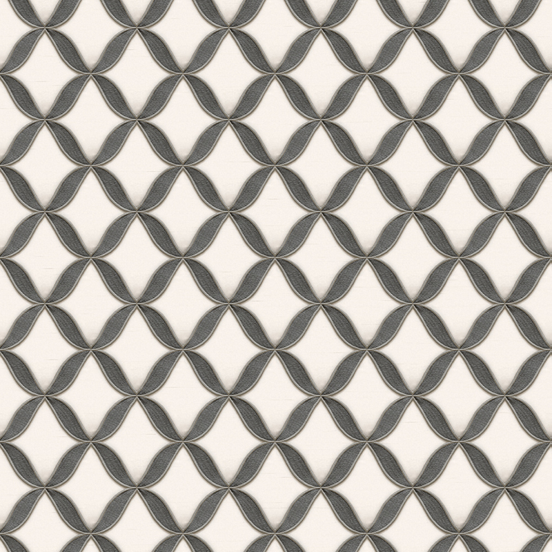 Dutch Fabric Touch behang Circle Geometric FT221224