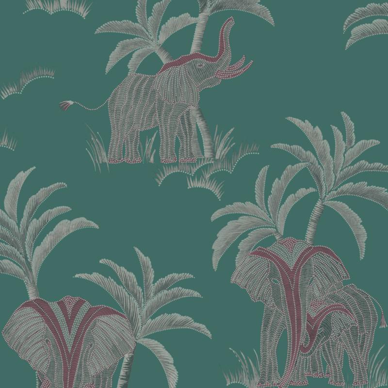 Hookedonwalls Exotique behang Tembo 17303