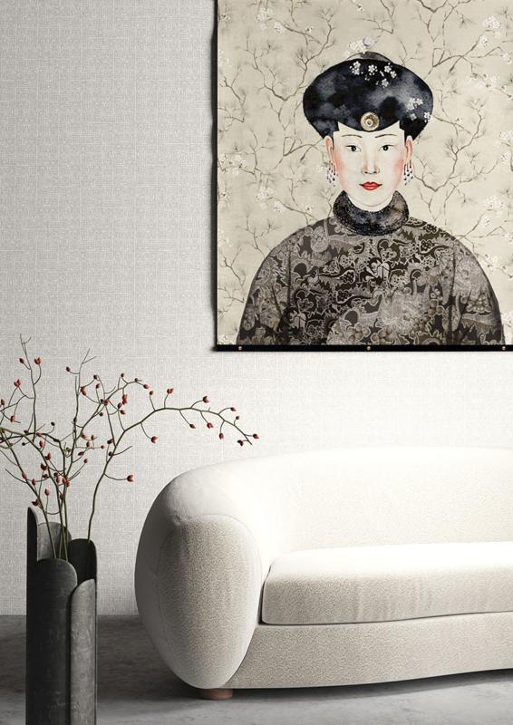 Khrôma Kimono behang Hoshi Moonbeam KIM604